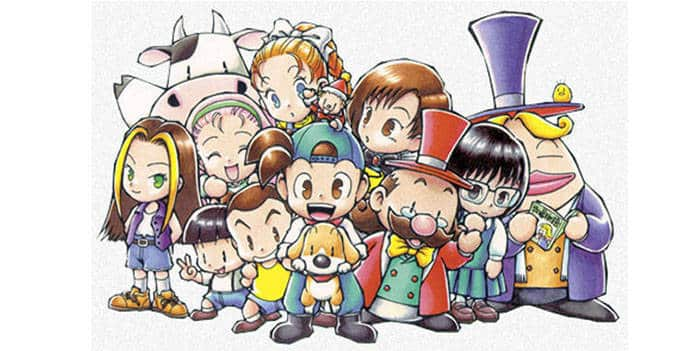harvest moon - characters