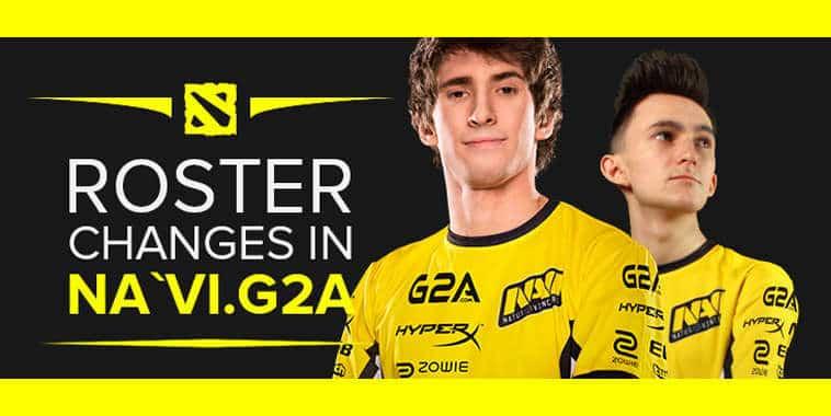 natus vincere new roster november 2016