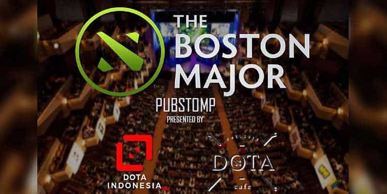 pubstomp the boston major by dota cafe