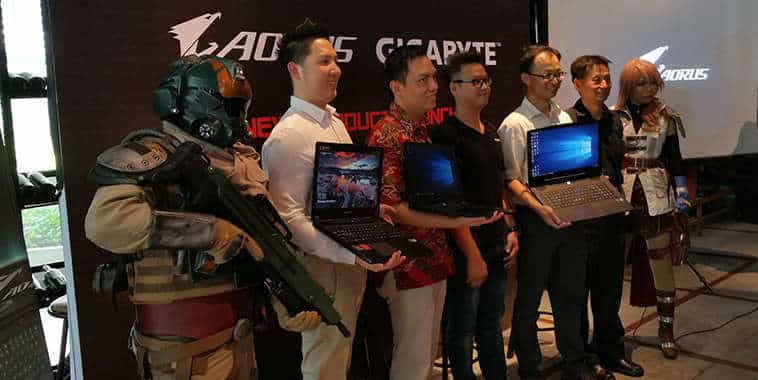 aorus x gigabyte product launching x series notebook gaming