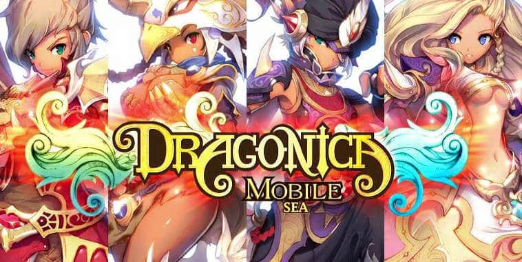 dragonica mobile sea logo