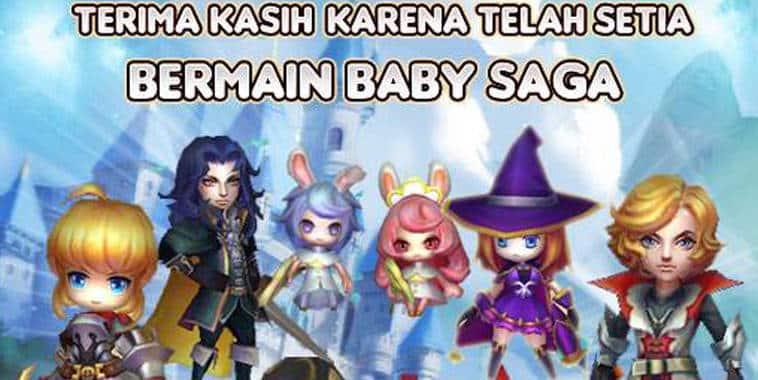 penutupan baby saga indonesia