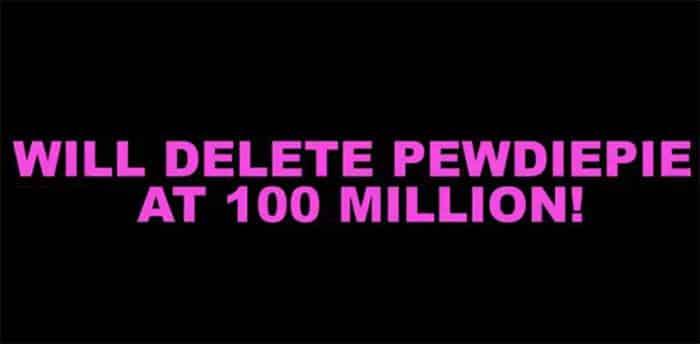 pewdiepie delete channel youtube