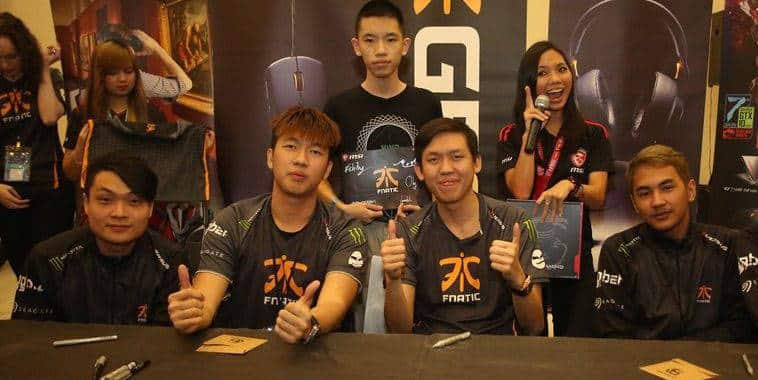 fnatic roster update after esl one genting 2017