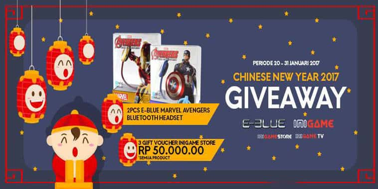 giveaway chinese new year 2017
