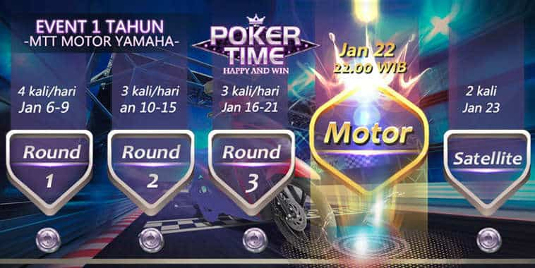 poker time 1st anniversary tournament