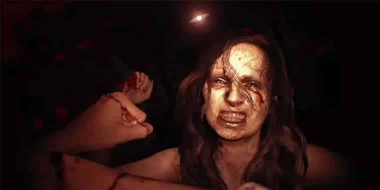 resident evil 7 brutal scene