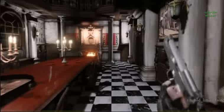 Resident Evil Mod First Person