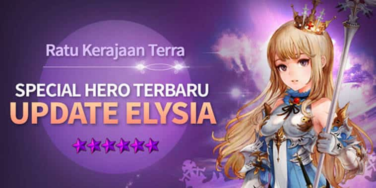 seve knights hero elysia