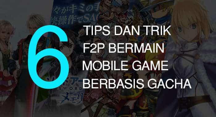 6 tips dan trik f2p