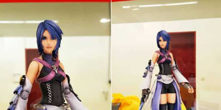 figur play arts kai aqua kingdom hearts