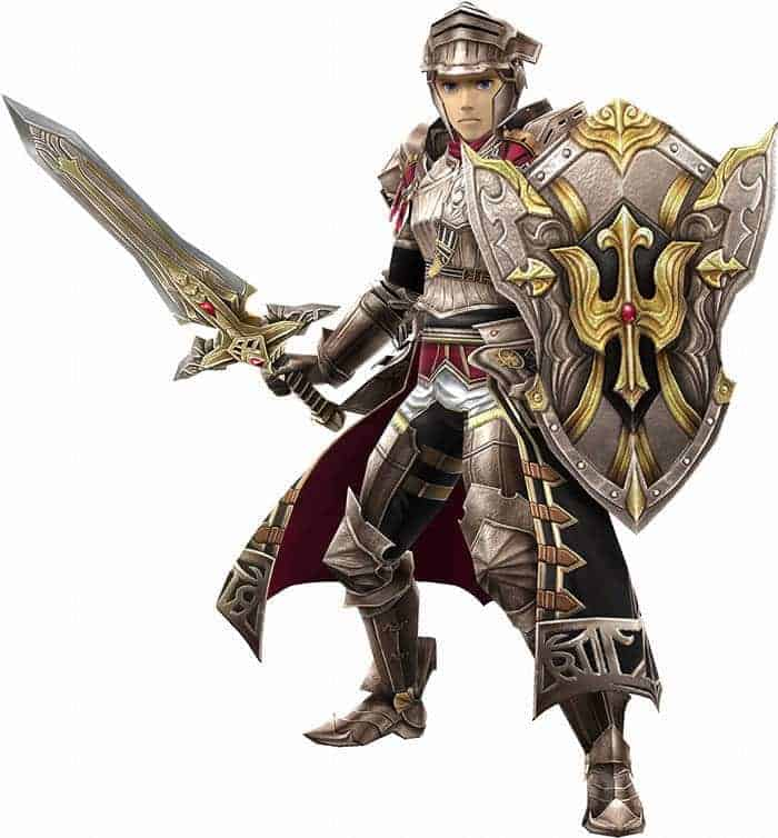 final fantasy explorers force paladin