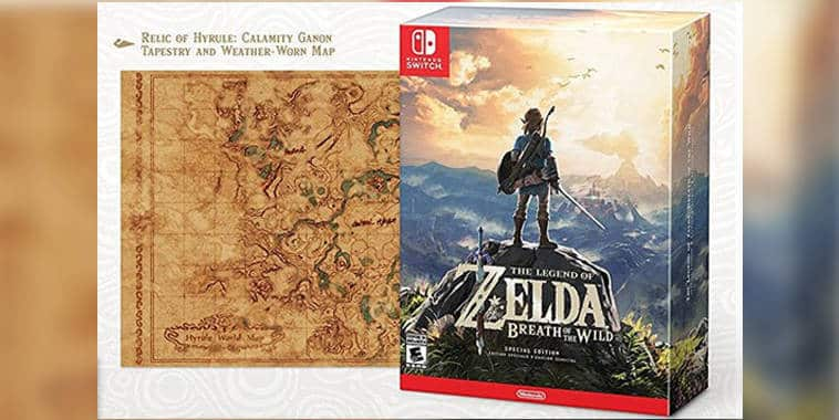 legend of zelda breath of the wild special edition