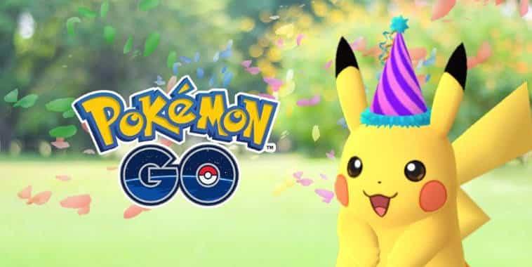 pokemon go festive hat pikachu