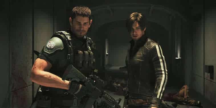 resident evil vendetta leon and chris