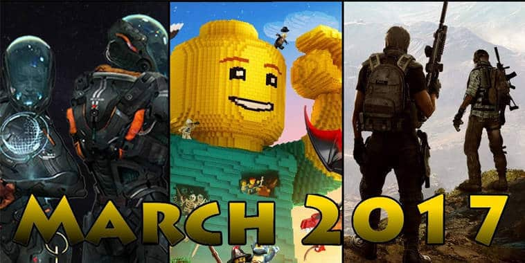 video game siap rilis maret 2017