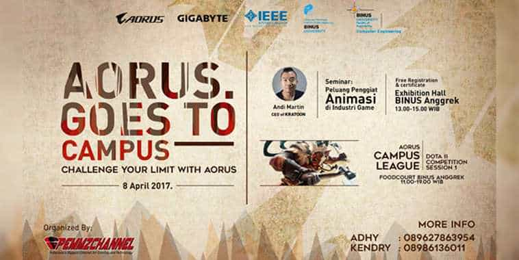 aorus goes to campus 2017