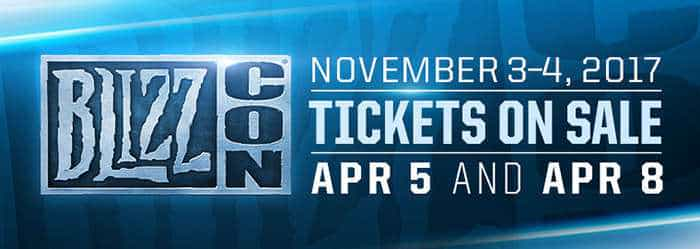 blizzcon 2017 date