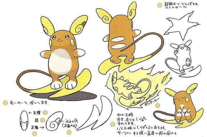 concept art pokemon sun moon