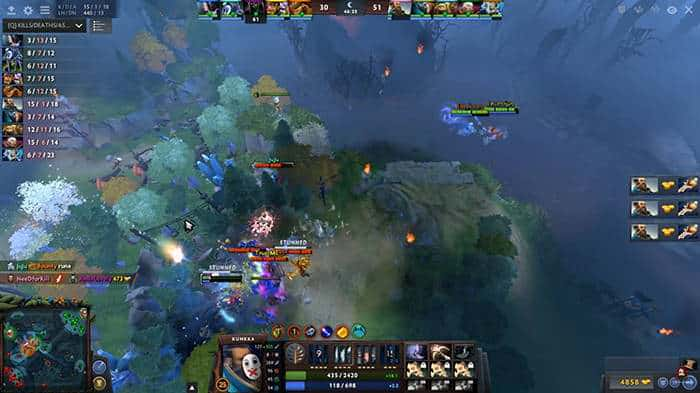 dota 2 cheater kunkka