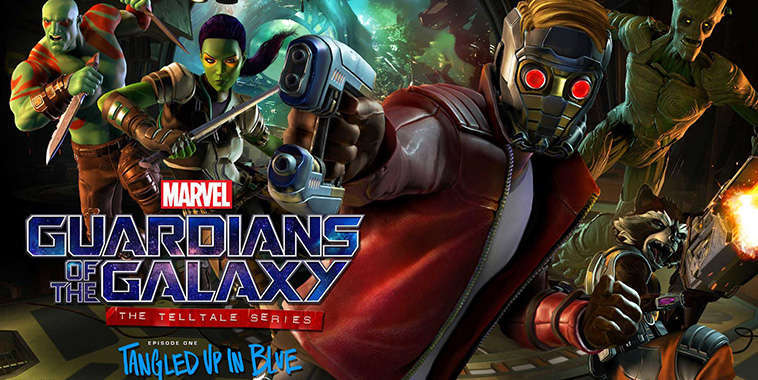 guardian of the galaxy the telltale series tangled up in blue