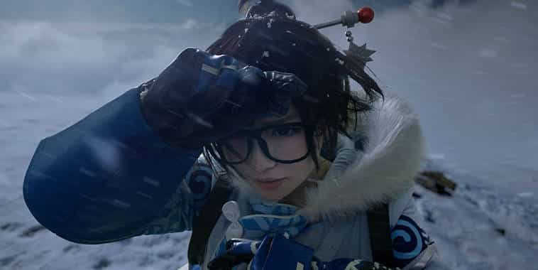 husky surely cosplay mei overwatch