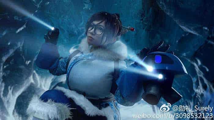 husky surely cosplay mei overwatch