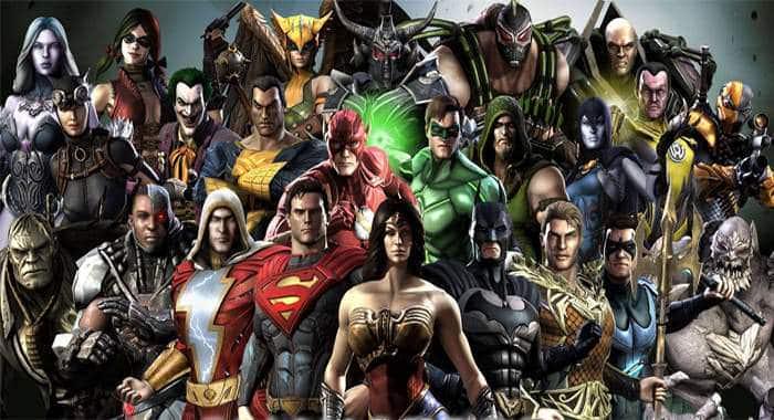 injustice 2 superheroes