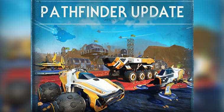 no mans sky pathfinder update