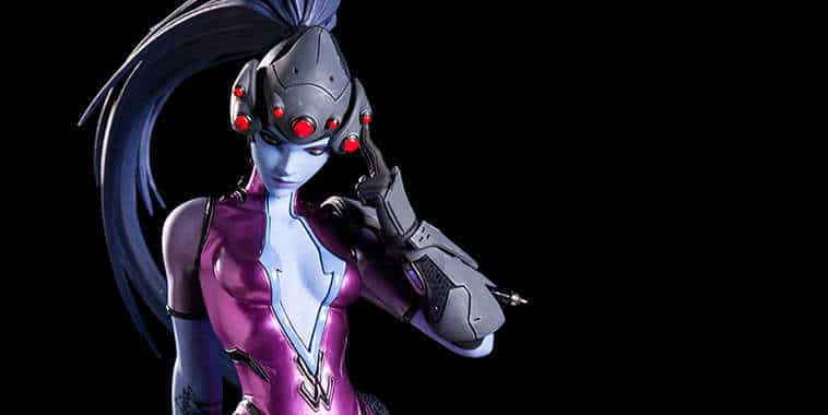 overwatch collectible statue widowmaker
