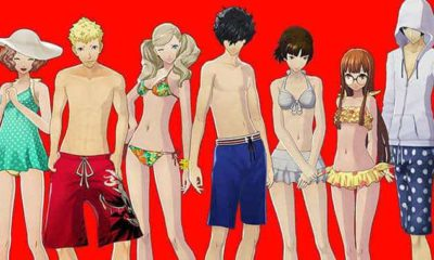 persona 5 dlc costume swimsuit