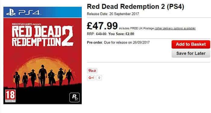 red redemption 2 release date leak
