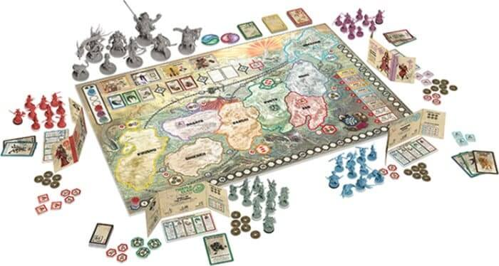 rising sun the board game