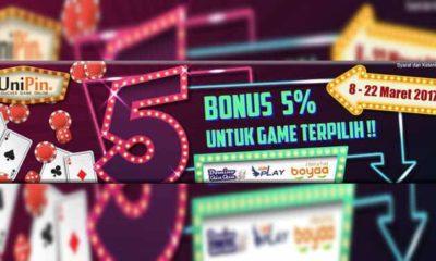 unipin event king of gambler