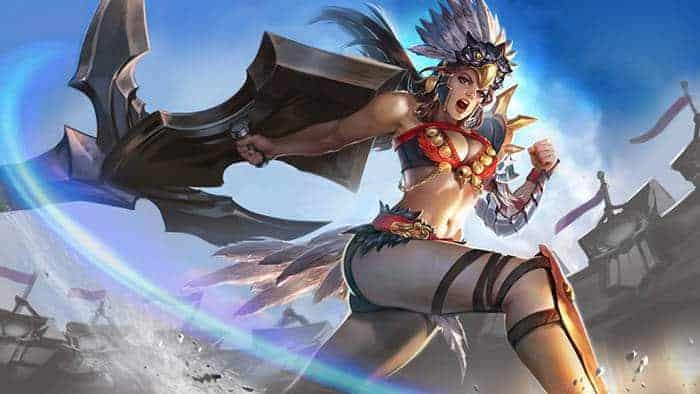 vainglory gladiator catherine