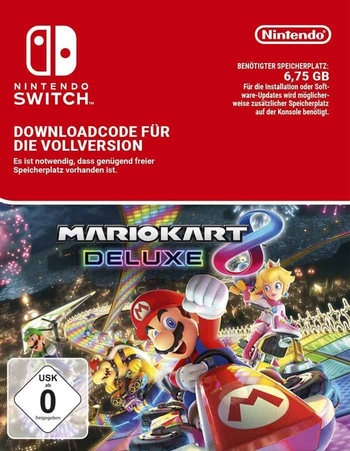 mario kart 8 deluxe - file size
