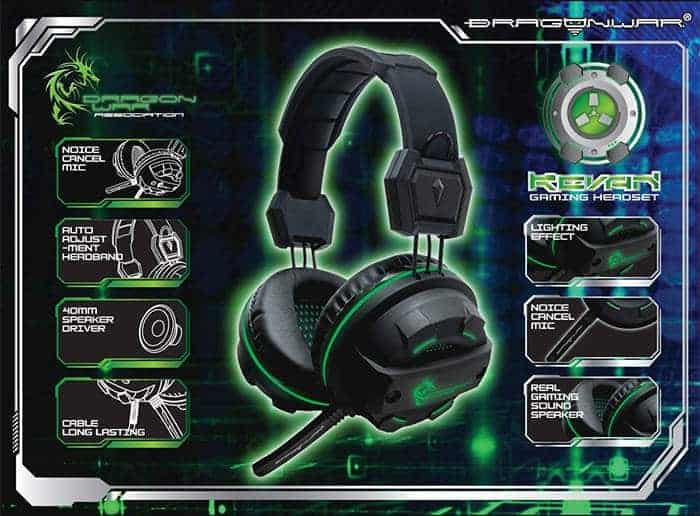 dragon war headset