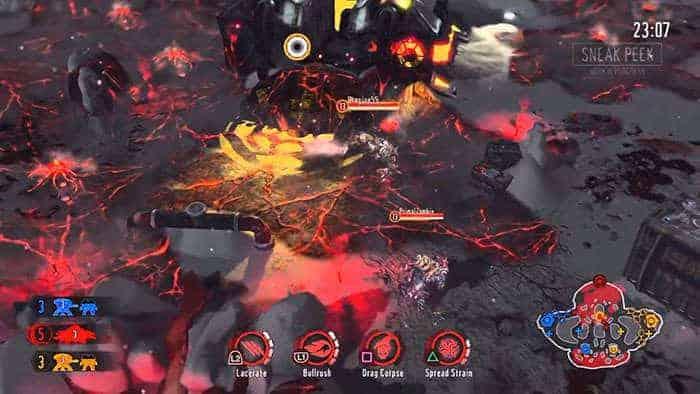 kill strain gameplay