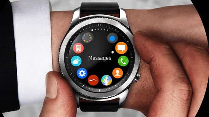 samsung gear s3 message