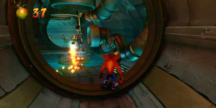 crash bandicoot n sane trilogy gameplay