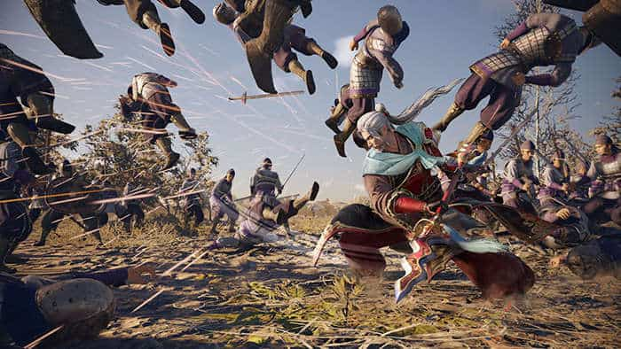 dynasty warrior 9 cheng pu action