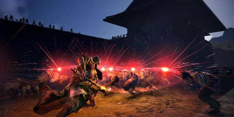 dynasty warrior 9 guan yu action
