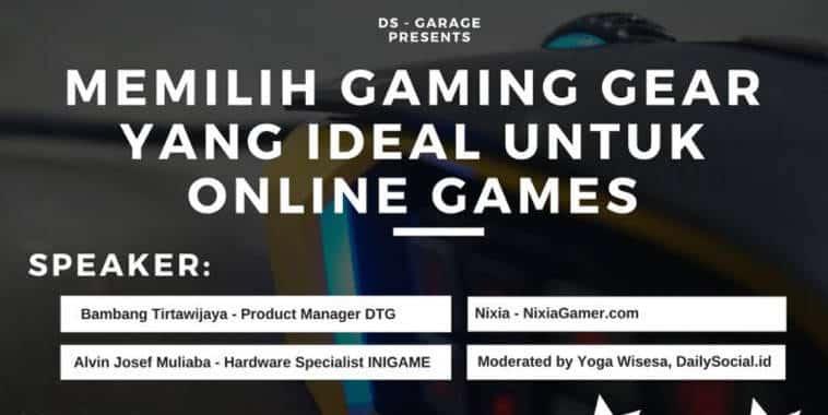 memilih gaming gear yang ideal untuk online games