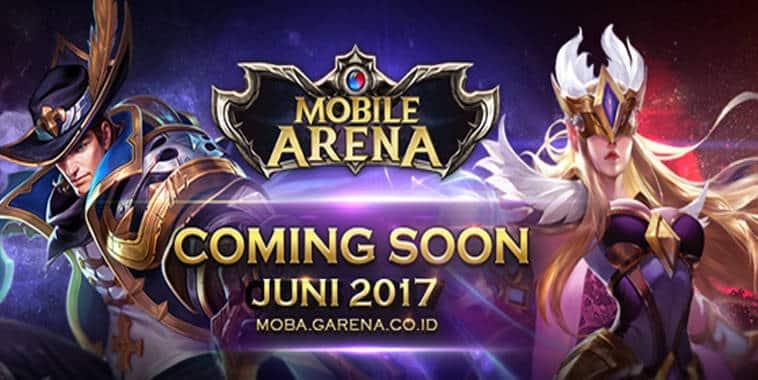 Mobile Arena, Mobile Game MOBA Terbaru dari Garena Indonesia