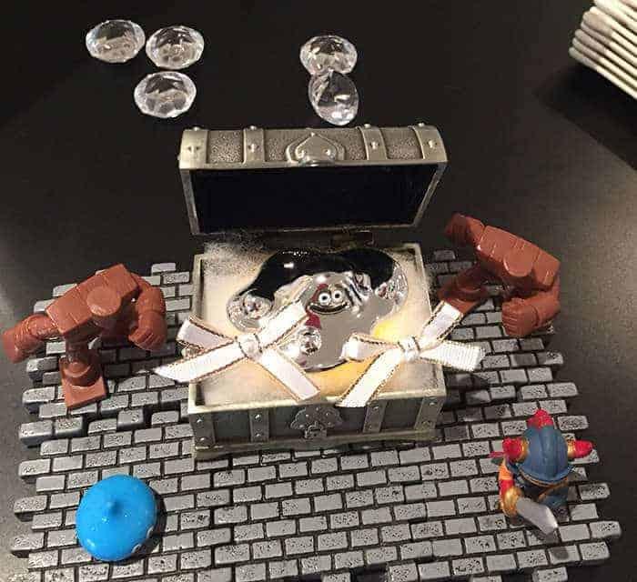 kotak cincin dengan tema final fantasy dan dragon quest