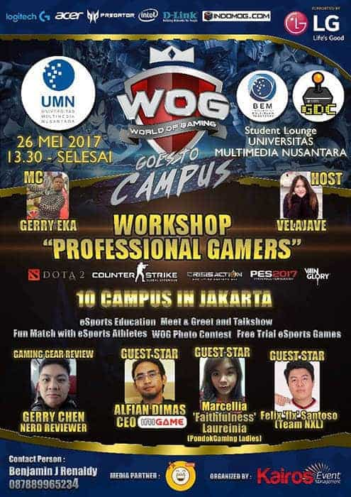 wog goes to campus