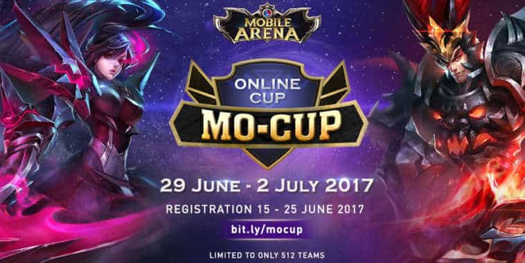mobile arena mo-cup