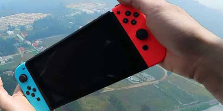 nintendo switch drop test