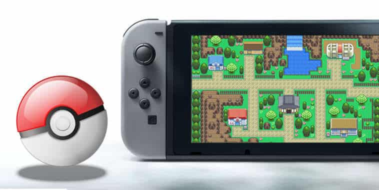 nintendo switch pokeball