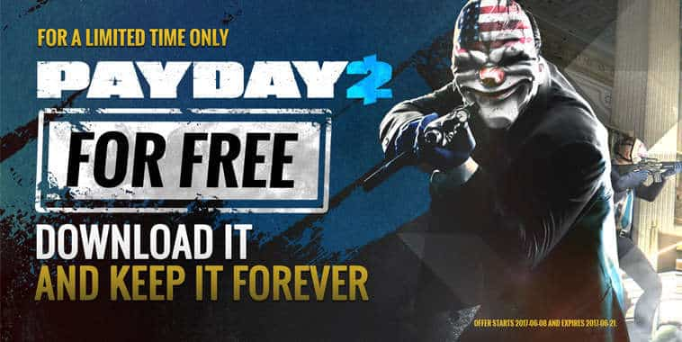 payday 2 free